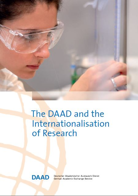 Folleto Daad And The Internationalisation Of Research