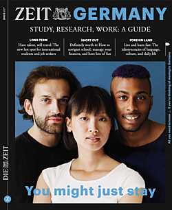 ZEIT Germany: Study, Research, Work – a Guide