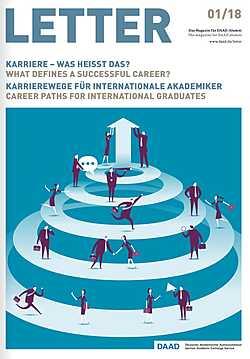 LETTER-DAAD-Alumni-Magazin: Ausgabe 1-2018