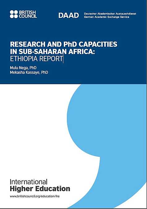 International Higher Education: Research and PhD Capacities in Subsaharan Africa: Ethiopia Report (2018)