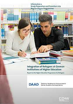 Flüchtlingsprogramm: Integration of Refugees at German Institutions of Higher Education. Information 2: Study Preparation and Transition into Regular Degree Programmes