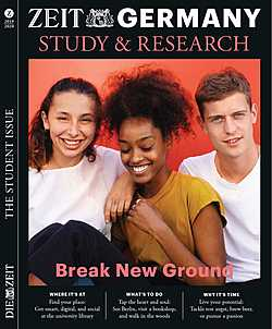 ZEIT Germany: Study & Research 2019 - Break New Ground (bitte in durch 50 teilbare Mengen bestellen!)