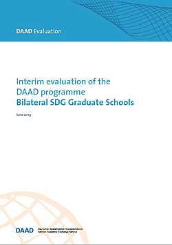 DAAD Evaluation: Interim evaluation of the DAAD programme Bilateral SDG Graduate Schools