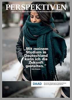 Flüchtlingsprogramm: PERSPEKTIVEN - Ein Magazin über Geflüchtete an dt. Hochschulen