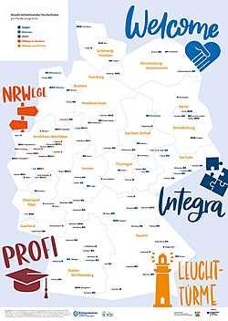Flüchtlingsprogramm: Landkarte der Hochschulprogramme für Geflüchtete