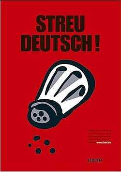 Informationen zu deutscher Sprache und Deutschförderung